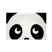 cute panda Rectangle Magnet