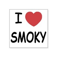 "SMOKY Square Sticker 3"" x 3"""