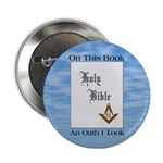 Masonic Treasures. The oath. Button