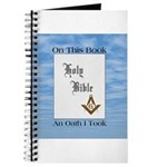Masonic Treasures. The oath. Journal