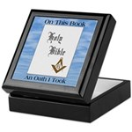 Masonic Treasures. The oath. Keepsake Box