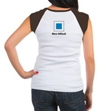 More Difficult Women's Cap Sleeve T-Shirt