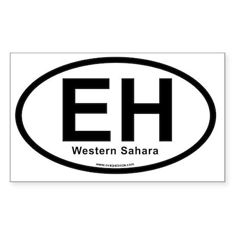 eh_westernsahara Sticker (Rectangle)