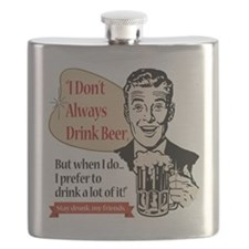 DontAlwaysDrinBeer Flask