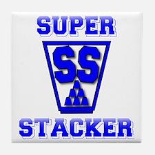 blue2, SS Cup, freshamn Tile Coaster