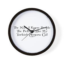 Like Angora Wall Clock