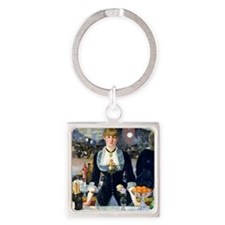Pillow Manet Folies Square Keychain
