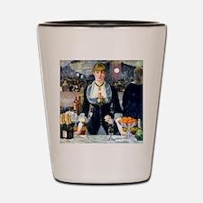 Pillow Manet Folies Shot Glass