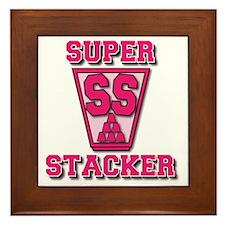 pink, SS Cup, freshamn Framed Tile