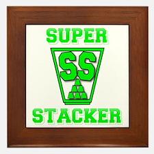 green2, SS Cup, freshamn Framed Tile