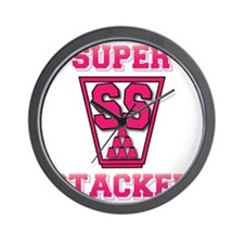 pink2, SS Cup, freshamn Wall Clock