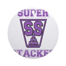 purple2, SS Cup, freshamn Round Ornament