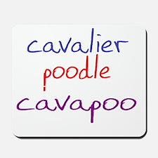 cavapoo_black Mousepad