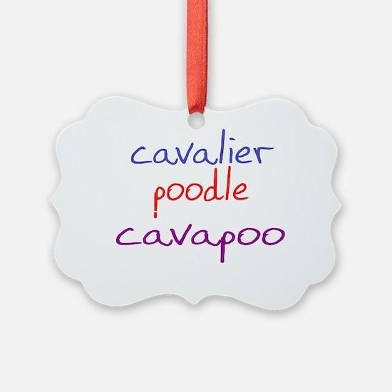 cavapoo_black Ornament