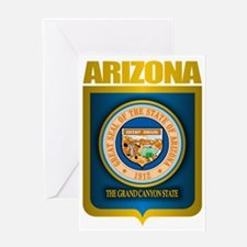 Arizona (Gold Label) Greeting Card