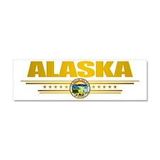 Alaska (Gold Label) pocket Car Magnet 10 x 3