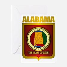 Alabama (Gold Label)2 Greeting Card