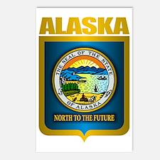 Alaska (Gold Label) Postcards (Package of 8)