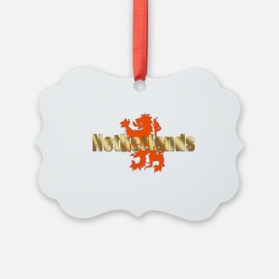 Netherlands Orange Lion Ornament