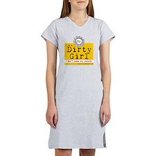 Dirty Girl Logo Women's Nightshirt