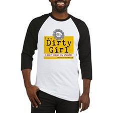 Dirty Girl Logo Baseball Jersey