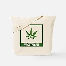 matt vegetarian copy Tote Bag