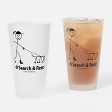 girlsticktrailing Drinking Glass