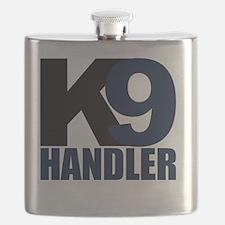 k9-handler02_black_blue Flask