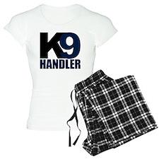 k9-handler02_black_blue Pajamas