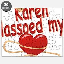 karen-g-lassoed Puzzle