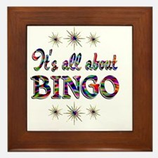 BINGO Framed Tile