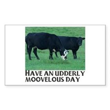 cows Rectangle Decal