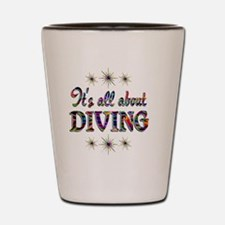 DIVING Shot Glass
