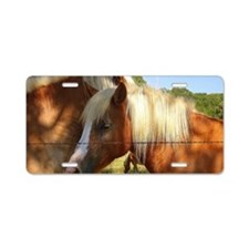 Haflinger Secret Aluminum License Plate