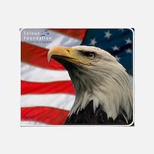 Selous-Eagle Throw Blanket