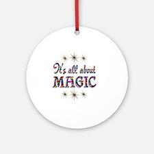 MAGIC Round Ornament