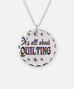 QUILTING Necklace