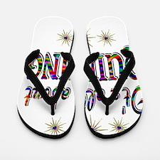 QUILTING Flip Flops