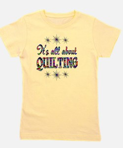 QUILTING Girl's Tee