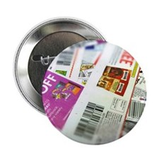 "Coupon Scatter 2.25"" Button"