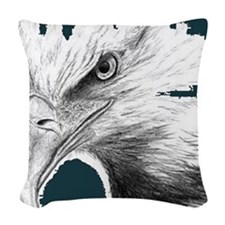 eagles1 - Copy Woven Throw Pillow