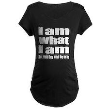 I am-white T-Shirt
