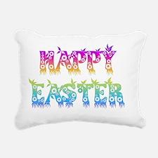 HAPPY-EASTER-BASE Rectangular Canvas Pillow
