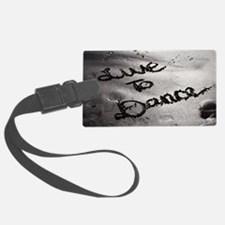 Live To Dance Luggage Tag