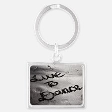 Live To Dance Landscape Keychain