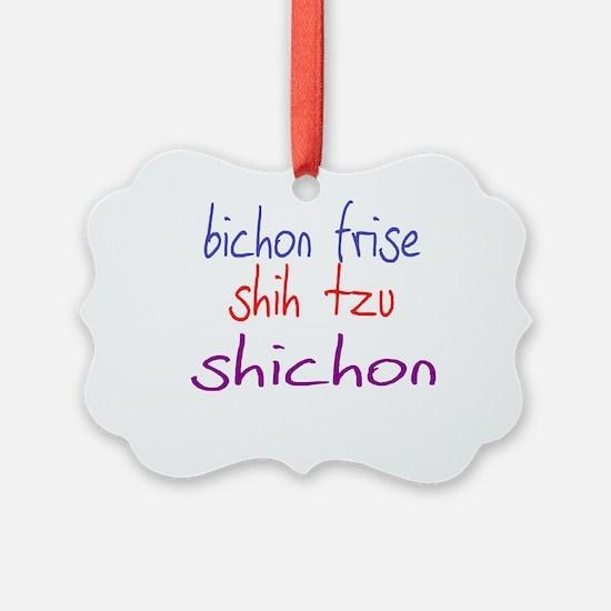 shichon_black Ornament