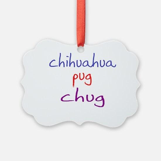 chug_black Ornament