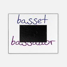 bassador_black Picture Frame