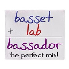 bassador Throw Blanket