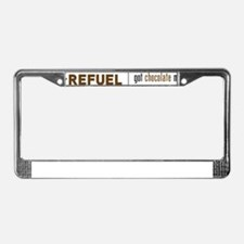 MyReFuel_Hor_2c License Plate Frame